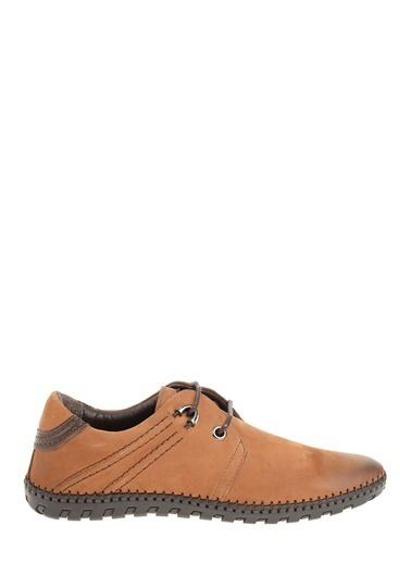 Hammer Jack %100 Deri Bağcıklı Ayakkabı Taba